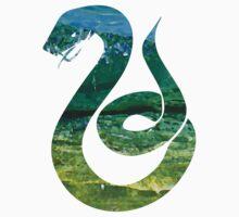 Snake water (Slytherin) Kids Tee