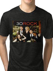 30 LIZ LEMON ROCK  Tri-blend T-Shirt