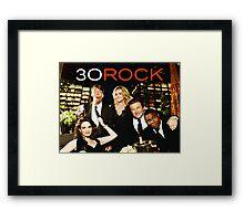 30 LIZ LEMON ROCK  Framed Print
