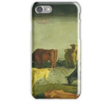 Five Cows, George Bellows iPhone Case/Skin