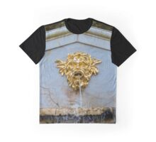 Details of the  Cascade in the famous park Peterhof, Russia Graphic T-Shirt