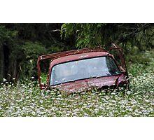 Abandoned Vehicle #1 Photographic Print