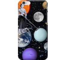 She's cleaning Uranus iPhone Case/Skin