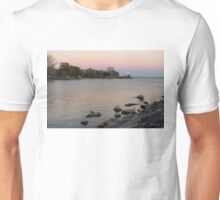 Pink Supermoon Moon Rise and a Little Mink Unisex T-Shirt