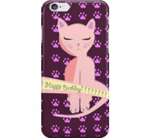 Happy birthday to you Card Version iPhone Case/Skin
