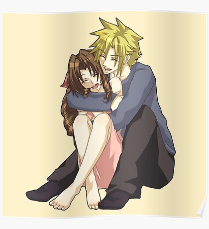 Cloud & Aerith Poster
