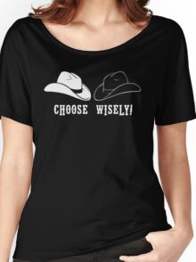 Black Hat or White Hat Women's Relaxed Fit T-Shirt