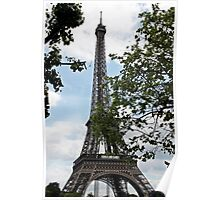 Eifel Tower Paris Frankreich Poster