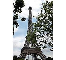 Eifel Tower Paris Frankreich Photographic Print