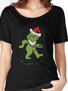 Don't Tell me this Grinch aint got no heart Women's Relaxed Fit T-Shirt