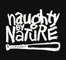 Naughty by Nature (white) Kids Clothes