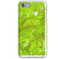 USGS TOPO Map California CA Sly Park 300538 1952 24000 geo iPhone Case/Skin