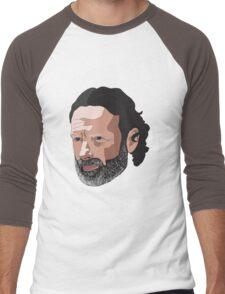 Rick Grimes Men's Baseball ¾ T-Shirt