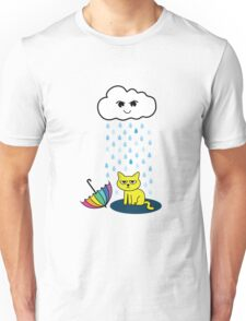 The Cat and the Cloud Unisex T-Shirt