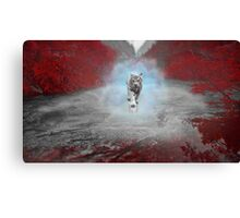 Mystical Tiger - Fantasy Artwork Canvas Print