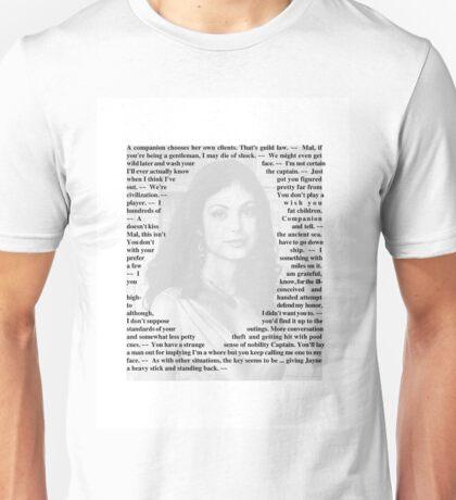 Firefly Quotes - Inara Serra Unisex T-Shirt