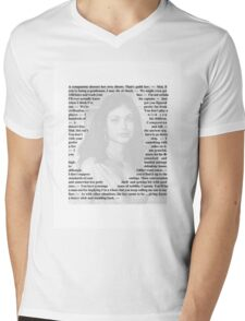 Firefly Quotes - Inara Serra Mens V-Neck T-Shirt