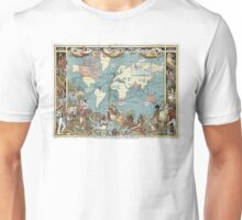 World map-British Empire-1886 Unisex T-Shirt