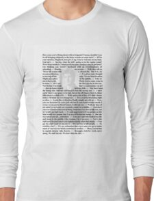 Firefly Quotes - Malcolm Reynolds - 1 Long Sleeve T-Shirt