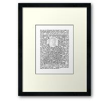 Firefly Quotes - Malcolm Reynolds - 1 Framed Print