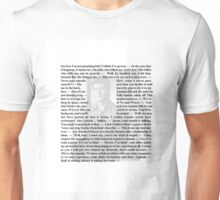 Firefly Quotes - Malcolm Reynolds - 2 Unisex T-Shirt