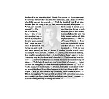 Firefly Quotes - Malcolm Reynolds - 2 Photographic Print