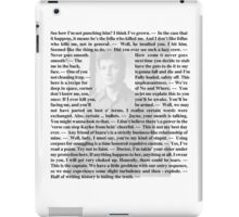 Firefly Quotes - Malcolm Reynolds - 2 iPad Case/Skin