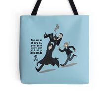 Sherlock Bomb Tote Bag