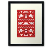 Merry Christmas A-Holes Framed Print