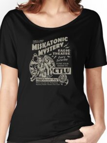 Miskatonic Mystery Radio Theatre Women's Relaxed Fit T-Shirt