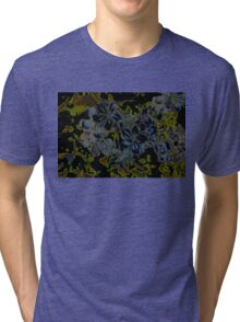 Plumbago Dance Tri-blend T-Shirt