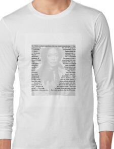 Firefly Quotes - Zoe Washburne Long Sleeve T-Shirt