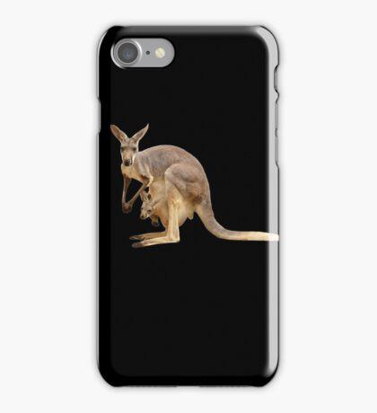 Kangaroo mom iPhone Case/Skin