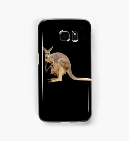 Kangaroo mom Samsung Galaxy Case/Skin