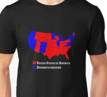 Hillary - Dumbfuckistan vs Donald Trump - United States Shirt Unisex T-Shirt