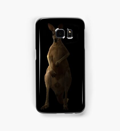 Kangaroo in the dark Samsung Galaxy Case/Skin