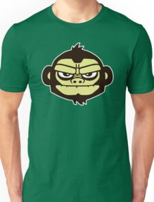 gorille cartoon tête humour Unisex T-Shirt