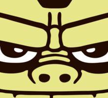 gorille cartoon tête humour Sticker