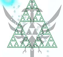 Navi triforce by Chimerasdoodle