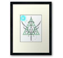 Navi triforce Framed Print