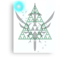 Navi triforce Canvas Print