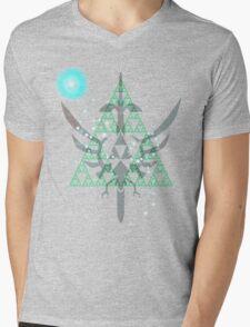 Navi triforce Mens V-Neck T-Shirt