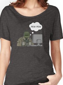 Pew Pew (mini) Women's Relaxed Fit T-Shirt
