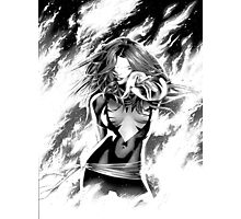 Black And White Dark Phoenix Photographic Print