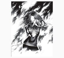 Black And White Dark Phoenix by ShootThatZombie