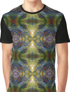 Rainbow Vortex Psychedelic Abstract Fiesta Graphic T-Shirt