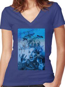 Carmen is A Cosmic Girl! Women's Fitted V-Neck T-Shirt