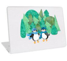 Cute Watercolour Penguins Laptop Skin