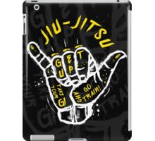 Jiu-jitsu. Go train! 2 iPad Case/Skin