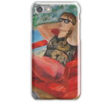 True relaxation iPhone Case/Skin